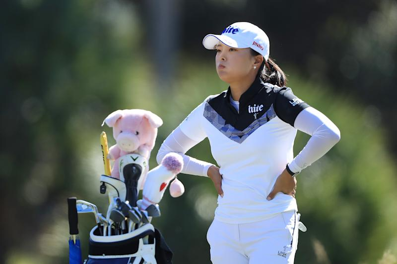 "Jin Young Ko says she learned how to putt by watching Brad Faxon YouTube videos, says ""He's good. Sexy."""