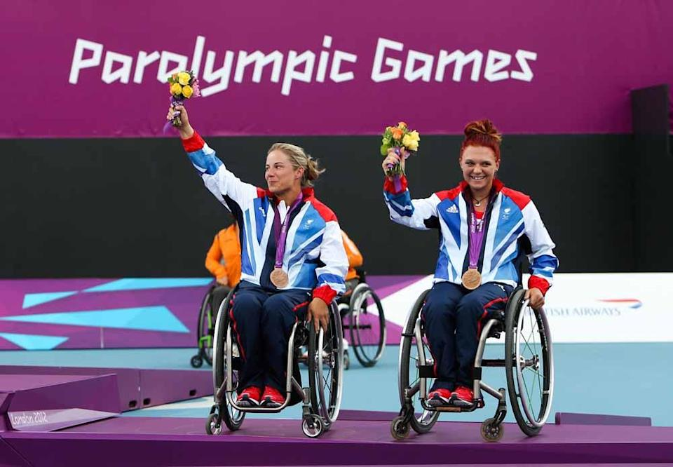 Lucy has won two Paralympic bronze medals (John Walton/PA).