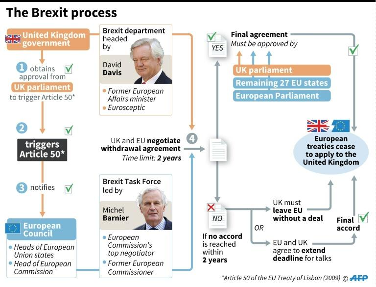 The Brexit process