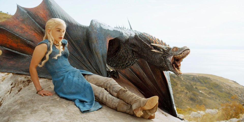 """<p>For those who are actually satisfied with the way things ended in the Seven Kingdoms, gather all your friends <a href=""""https://www.bestproducts.com/lifestyle/g28579372/game-of-thrones-halloween-costumes/"""" rel=""""nofollow noopener"""" target=""""_blank"""" data-ylk=""""slk:who love"""" class=""""link rapid-noclick-resp"""">who love </a><em><a href=""""https://www.bestproducts.com/lifestyle/g28579372/game-of-thrones-halloween-costumes/"""" rel=""""nofollow noopener"""" target=""""_blank"""" data-ylk=""""slk:Game of Thrones"""" class=""""link rapid-noclick-resp"""">Game of Thrones</a></em> just as much as you, and go as Daenerys, Jon Snow, Sansa, Cersei, and all the other characters. </p>"""