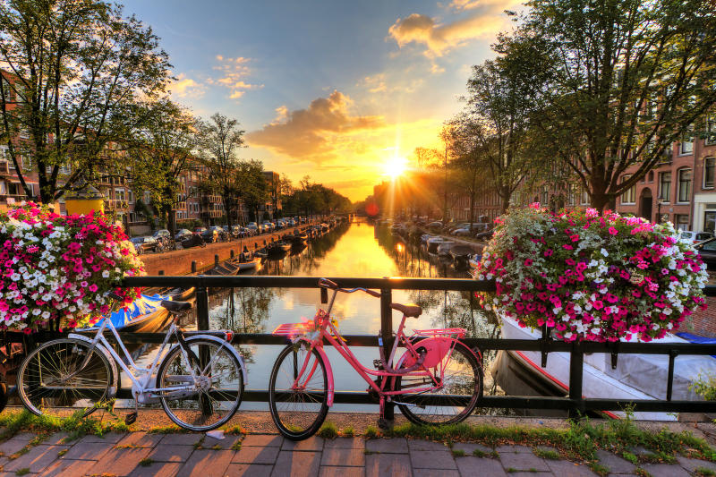 The canals of Amsterdam [Photo: Getty]