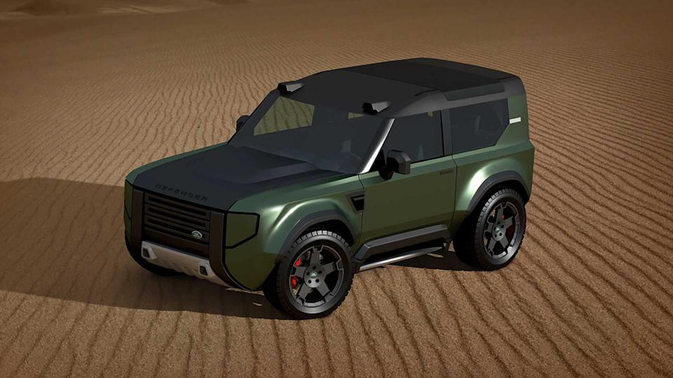 Land Rover Baby-Defender (Renderings)