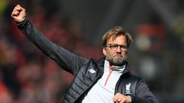 The German coach has warned Reds supporters against complacency after seeing them celebrate a 3-1 victory over Everton long before the final whistle