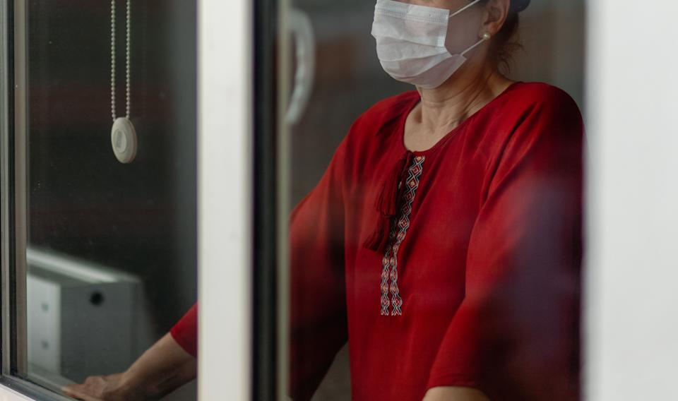 people who cannot leave the house due to an epidemic (Photo: Phynart Studio via Getty Images)