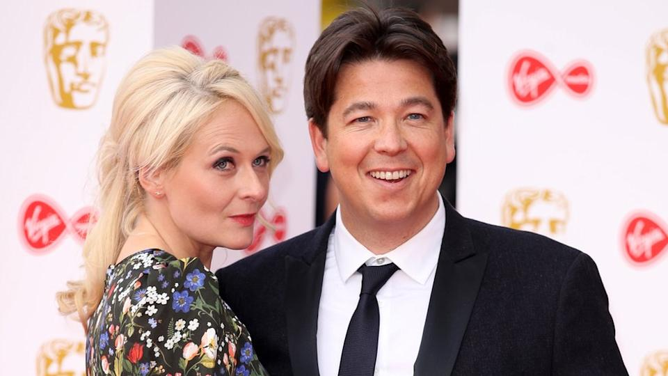 Michael McIntyre and his wife Kitty