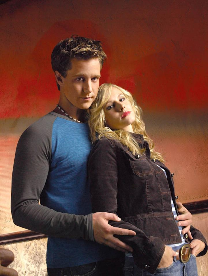 "Jason Dohring and Kristen Bell in ""Veronica Mars"" Season 3."