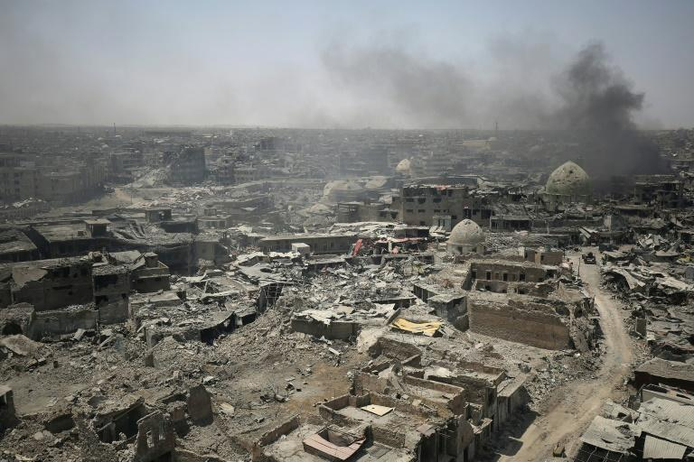 Jihadists used hundreds of thousands of trapped civilians as human shields in Mosul, while Iraqi troops fired at will and coalition planes shelled relentlessly