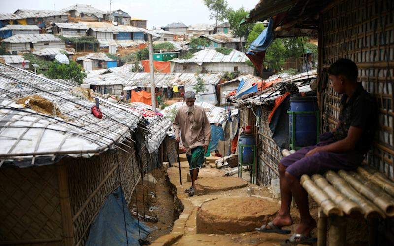 Rohingya are desperate to flee the cramped camps - Mohammad Ponir Hossain/Reuters