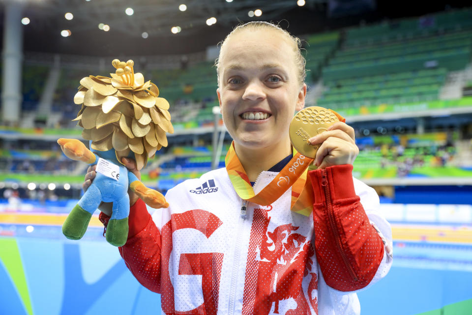 Simmonds, 26, has racked up a thrilling five Paralympic gold medals since storming onto the scene as a 13-year-old in Beijing