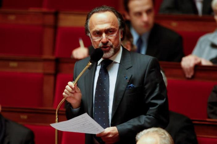 French deputy Olivier Dassault attends the government questions session at the National Assembly in Paris