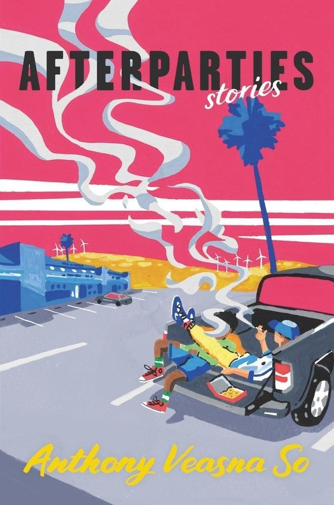"""<strong><em>Afterparties</em> by Anthony Veasna So</strong><br><br>If novels aren't your thing, <em>Afterparties</em> is the perfect collection of humorous and poignant short stories about the lives of Cambodian Americans. Set across California, each individual tale dives into the complexities of life as a child of immigrants in the US. From a queer romance detailing the relationship between a Silicon Valley tech head and a young teacher to an emotional story about a child and a mother discussing surviving a mass shooting, the collection darts between darkness and light. Though it has humour at its core, <em>Afterparties'</em> power comes from its discussions around intergenerational trauma and what it means to grow up with parents who were the victims of a horrifying genocide.<br><br><em>Available to purchas</em>e<em> 3rd August.</em><br><br><strong>Anthony Veasna So</strong> Afterparties, $, available at <a href=""""https://www.waterstones.com/book/afterparties/anthony-veasna-so/9781611856514"""" rel=""""nofollow noopener"""" target=""""_blank"""" data-ylk=""""slk:Waterstones"""" class=""""link rapid-noclick-resp"""">Waterstones</a>"""