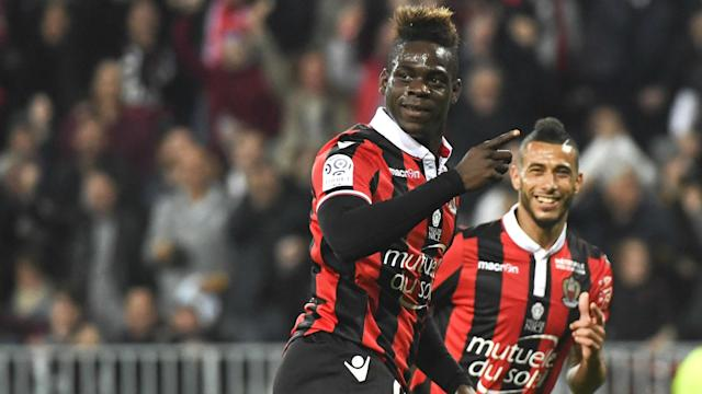 Mario opened the scoring as his side dealt the capital club a huge Ligue 1 title blow - and he was sure to rub it in with some fancy footwork to boot