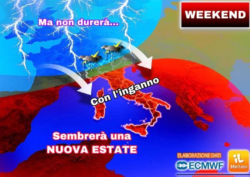Meteo, weekend d'estate ma temporali in agguato: ecco dove