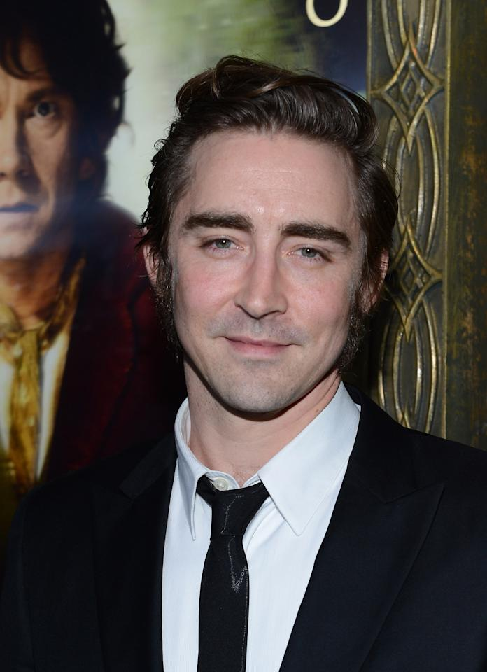 "NEW YORK, NY - DECEMBER 06:  Lee Pace attends ""The Hobbit: An Unexpected Journey"" New York premiere benefiting AFI at Ziegfeld Theater on December 6, 2012 in New York City.  (Photo by Andrew H. Walker/Getty Images)"