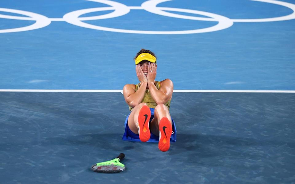 Svitolina with an incredible comeback - Reuters