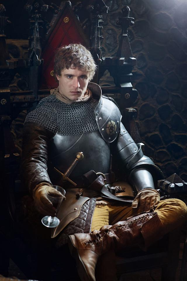 "Max Irons as King Edward in ""The White Queen"" on Starz."