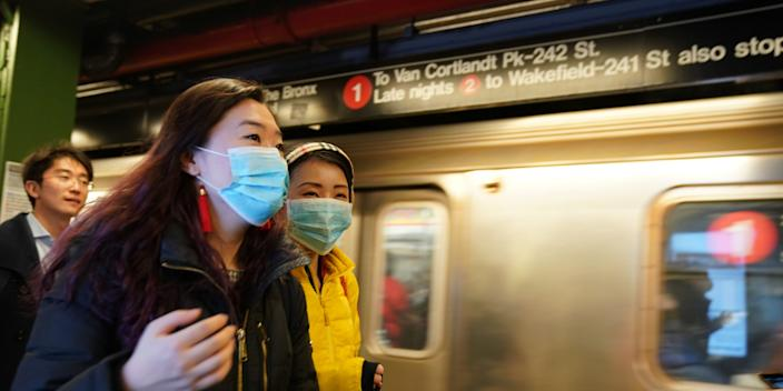 Health officials say they're testing the first possible Wuhan coronavirus case in New York City