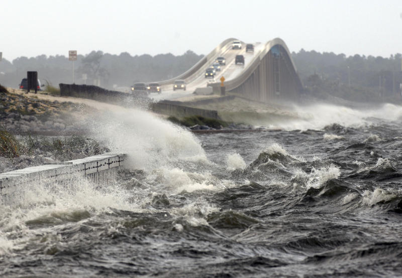 storm surge warnings life threatening will cover a house