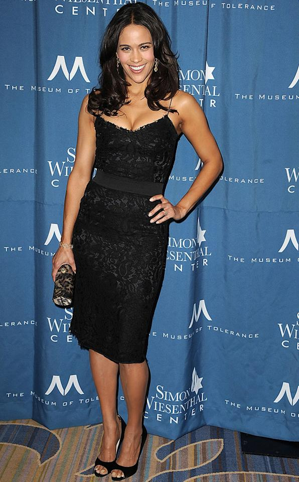 """<a href=""""http://movies.yahoo.com/movie/contributor/1809152346"""">Paula Patton</a> attends the 2011 Wiesental Center National Tribute Dinner In Honor Of Tom Cruise in Los Angeles on May 5, 2011."""