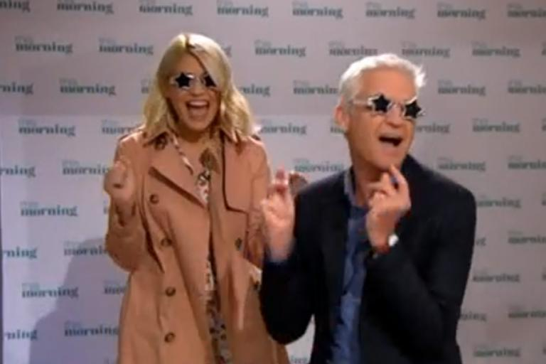 Phillip Schofield and Holly Willoughby in hysterics as they fool hundreds with fake Sir Elton John