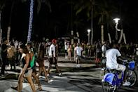 After months of depression and isolation, the 2021 season on the warm sands of Florida's Miami Beach is off to a banging start
