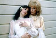"<p><em>Terms of Endearment</em> swept the 1984 Academy Awards, and the tension between the two star actresses offscreen was award-worthy as well. With both actresses initially having reputations of being 'difficult,' things were bound to start off on the wrong foot. <a href=""http://gawker.com/5014822/after-all-these-years-debra-winger-still-cant-stand-shirley-maclaines-guts"" rel=""nofollow noopener"" target=""_blank"" data-ylk=""slk:They reportedly"" class=""link rapid-noclick-resp"">They reportedly</a> hated each other so much that they got into physical altercations; and when both were nominated for the Best Actress Oscar, it only added fuel to the fire. MacLaine would go on to win, and famously shouted ""I deserve this!"" when her name was called over Winger's that night.</p>"