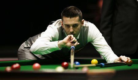 Snooker - Dafabet Masters - Alexandra Palace - 14/1/16 Mark Selby in action during the quarter final Mandatory Credit: Action Images / Peter Cziborra Livepic
