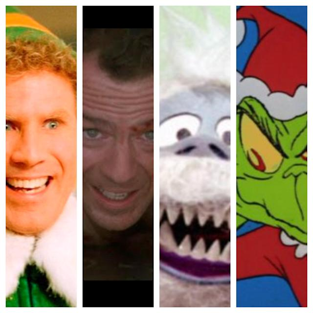 Buddy, John, Abominable, Grinch.