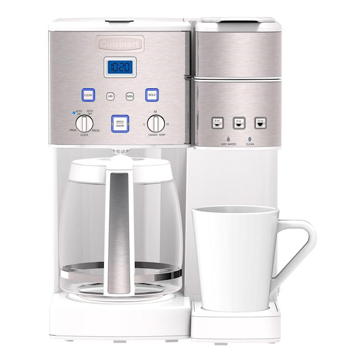 Cuisinart Coffee Center; $200. cuisinart.com