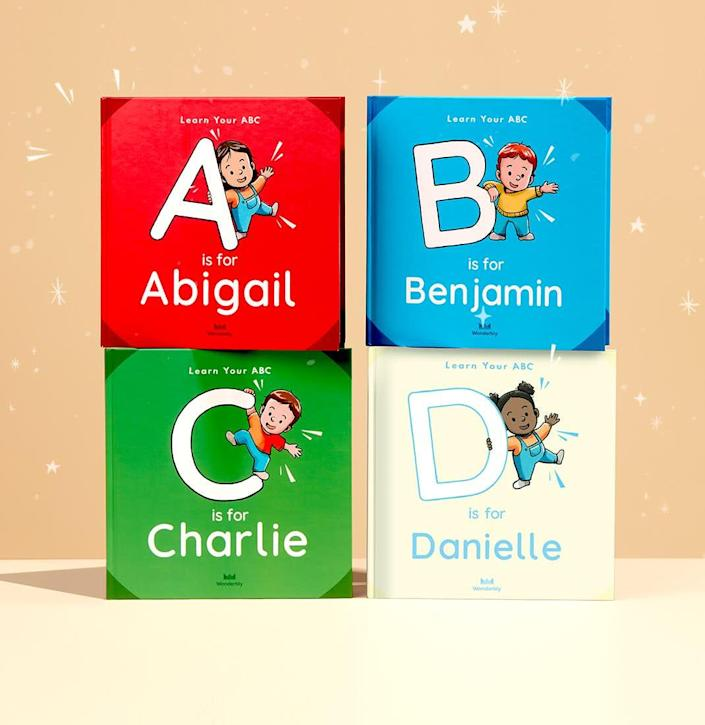 Wonderbly ABC for You Book