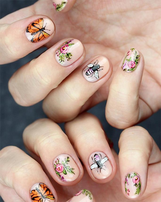 Super Intricate Nail Art That Will Make You Say WHOA!