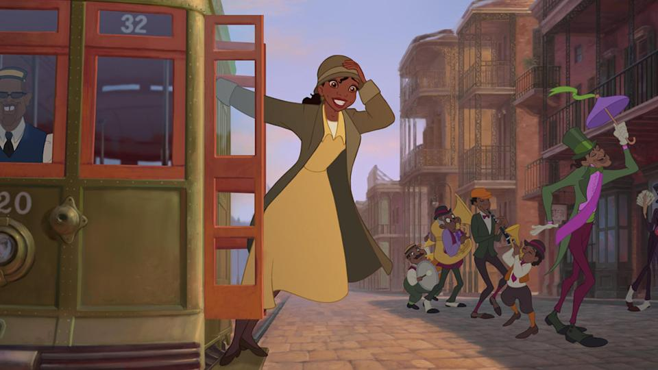 The Princess and the Frog Disney movie