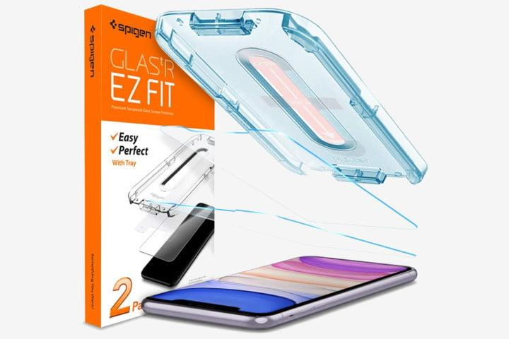 Spigen Tempered Glass Screen Protector for iPhone 11