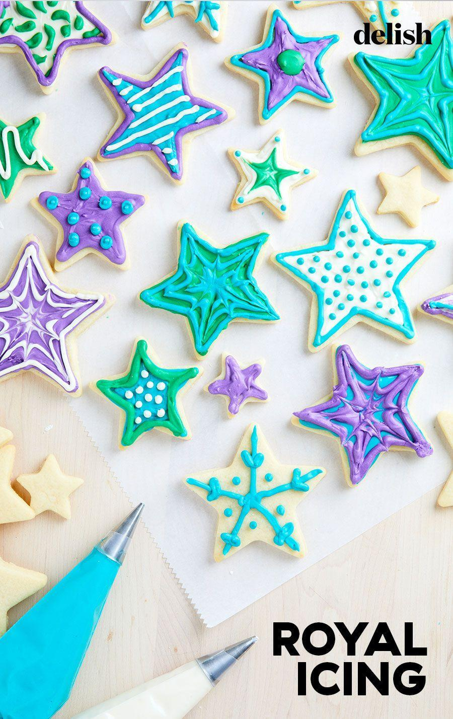 """<p>For the prettiest cookies, give them the royal treatment.</p><p>Get the recipe from <a href=""""https://www.delish.com/cooking/recipe-ideas/a35034250/royal-icing-for-cookies-recipe/"""" rel=""""nofollow noopener"""" target=""""_blank"""" data-ylk=""""slk:Delish"""" class=""""link rapid-noclick-resp"""">Delish</a>.</p>"""