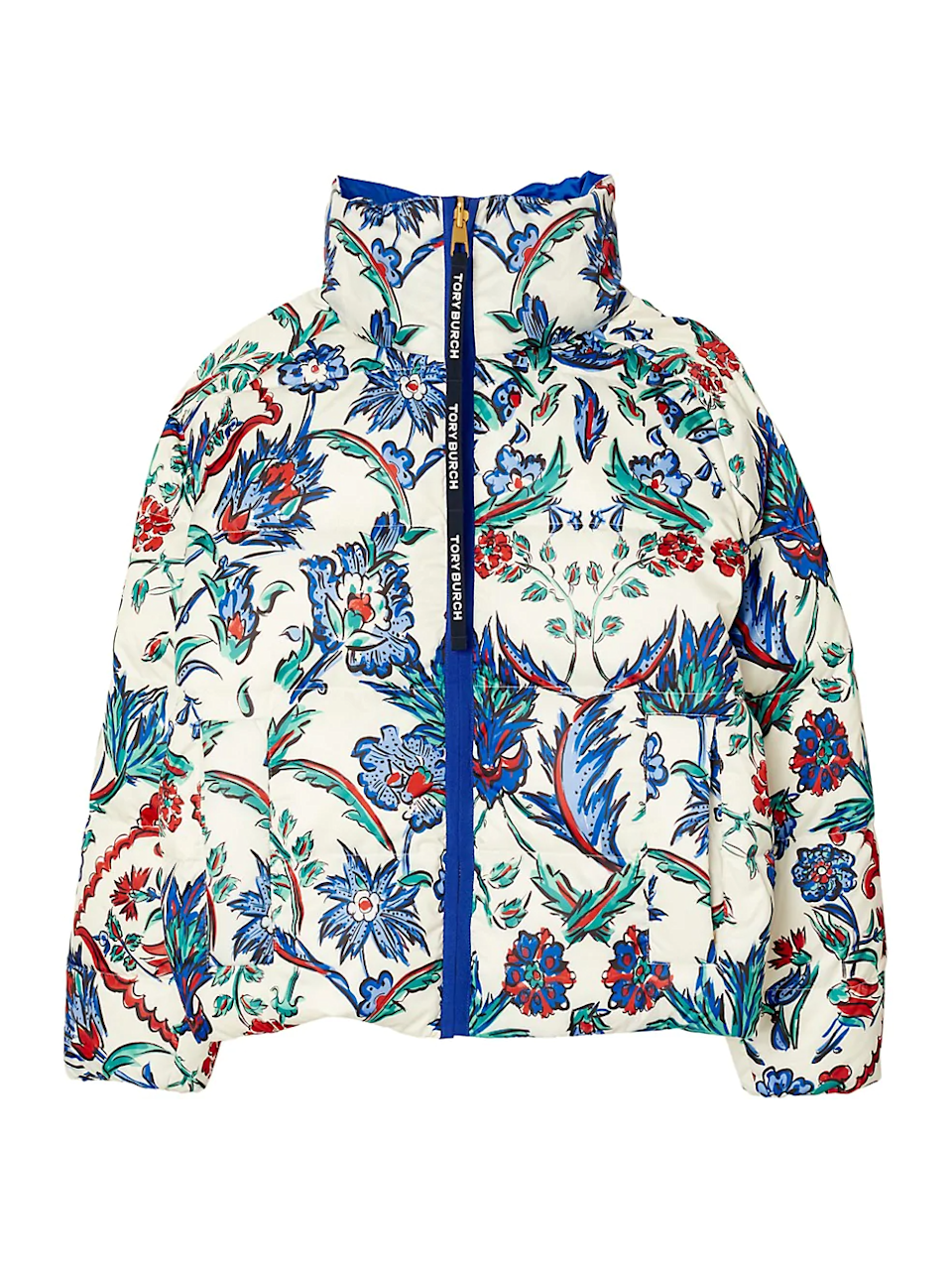 """<br><br><strong>Tory Burch</strong> Down Reversible Printed Puffer Jacket, $, available at <a href=""""https://go.skimresources.com/?id=30283X879131&url=https%3A%2F%2Fwww.saksfifthavenue.com%2Fproduct%2Ftory-burch-down-reversible-printed-puffer-jacket-0400012914779.html"""" rel=""""nofollow noopener"""" target=""""_blank"""" data-ylk=""""slk:Saks Fifth Avenue"""" class=""""link rapid-noclick-resp"""">Saks Fifth Avenue</a>"""