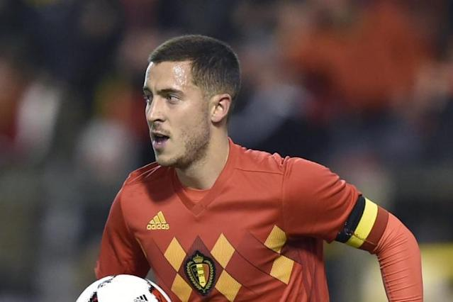 Chelsea star Eden Hazard is 'not a false nine' for Belgium ahead of World Cup 2018, confirms Roberto Martinez