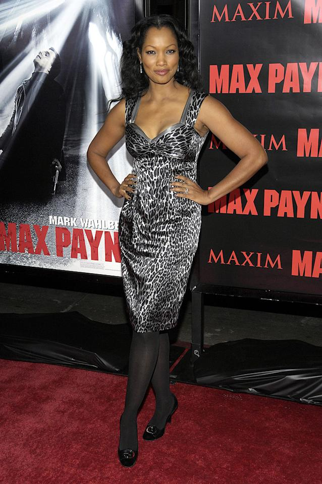 "<a href=""http://movies.yahoo.com/movie/contributor/1807598780"">Garcelle Beauvais</a> at the Los Angeles premiere of <a href=""http://movies.yahoo.com/movie/1810007086/info"">Max Payne</a> - 10/13/2008"