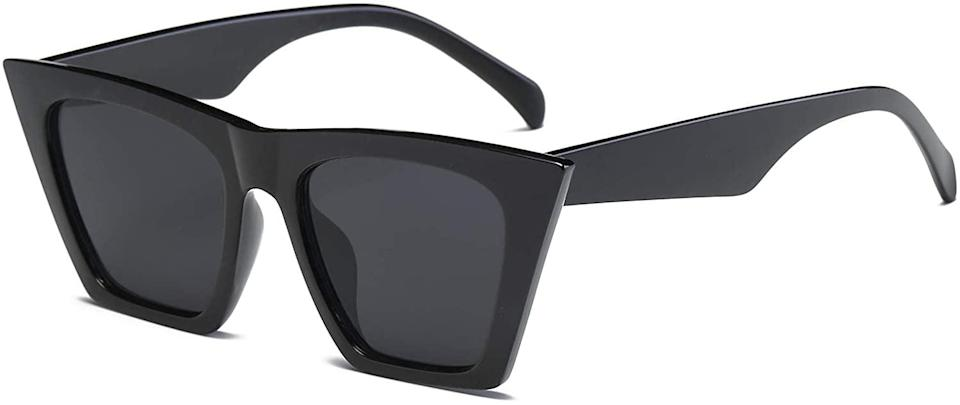 <p>These <span>FEISEDY Vintage Square Cat Eye Sunglasses </span> ($14) are all over Instagram and TikTok and we understand why. These timeless yet flattering pair are must for bold and elevated looks.</p>