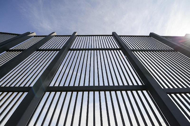 """A section of the border fence is shown, Thursday, Feb. 16, 2017, along the U.S.-Mexico border in Brownsville, Texas. The United States does not have a way to measure how well fencing works to deter illegal crossings from Mexico, according to a report released Thursday by Congress' main watchdog as President Donald Trump renewed his pledge to build """"a great wall"""" on the border. (Jason Hoekema/The Brownsville Herald via AP)"""