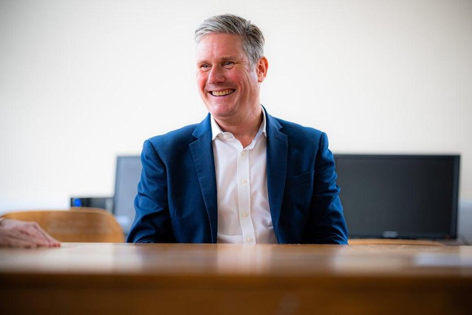 Sir Keir Starmer has called on Labour to modernise and become 'the party of the next 10 or 20 years' if it wants to win the next general election (Ben Birchall/PA) (PA Wire)