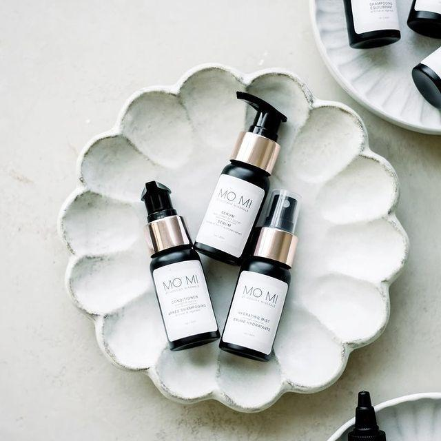 """<p>Mo Mi, short for Modern Minerals, is haircare that not only is vegan and cruelty-free, but it looks good on your vanity. Founder Diane Read credits her heritage with helping her source the plant-based ingredients that make up the line.</p> <p><strong>Buy It! </strong>Cleansing Essentials, $24; <a href=""""https://www.momibeauty.com/collections/style-maintain/products/styling-essentials"""" rel=""""nofollow noopener"""" target=""""_blank"""" data-ylk=""""slk:momibeauty.com"""" class=""""link rapid-noclick-resp"""">momibeauty.com</a></p>"""