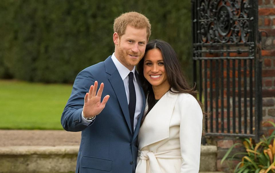 <p>The couple announce their long awaited engagement with Kensington Palace saying that the wedding will take place in spring 2018. In their first joint interview together, Harry and Meghan opened up about how they met and how Harry proposed over roast chicken.<br><i>[Photo: Getty]</i> </p>