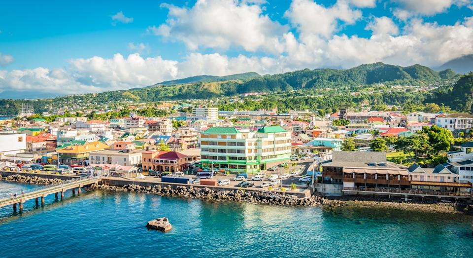 Dominica's colourful capital of Roseau (Getty)
