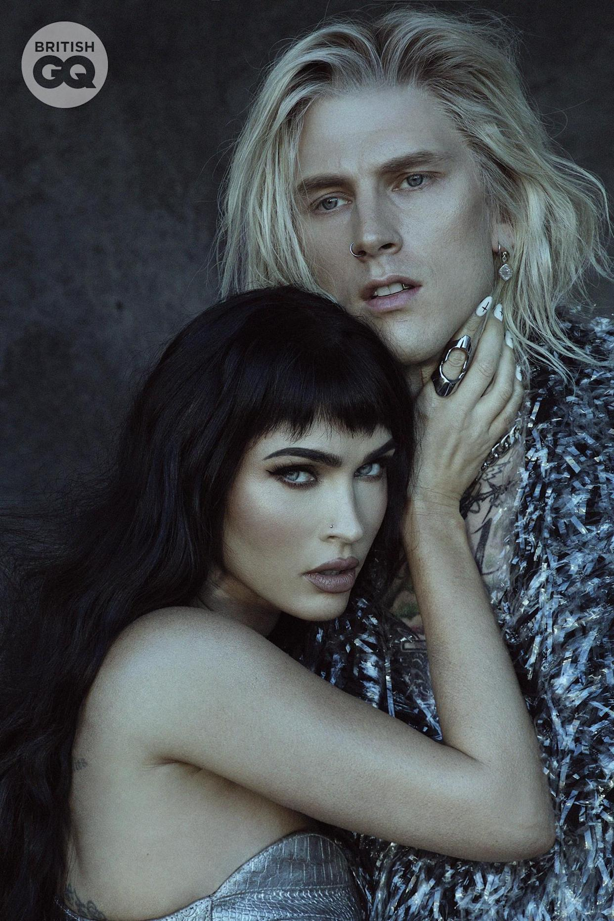 Megan Fox and Machine Gun Kelly have given a candid interview in British GQ Style's Autumn/Winter 2021 issue (GQ: Daniella Midenge)