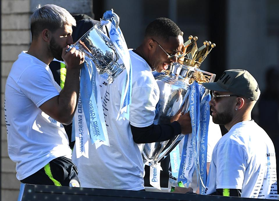 Manchester City's ascent, at least in the form it took, would not have been possible without the Bosman ruling. (PAUL ELLIS/AFP via Getty Images)