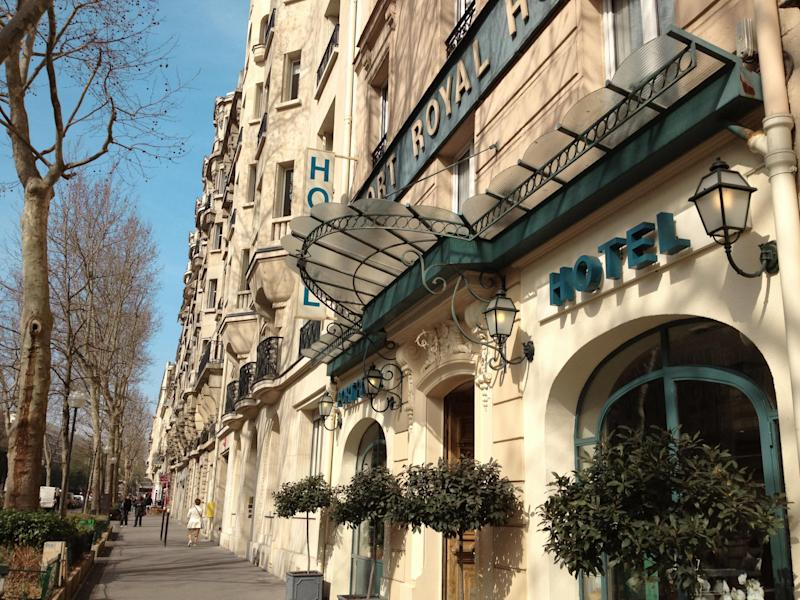 Hotel Port Royal in the leafy fifth arrondissement