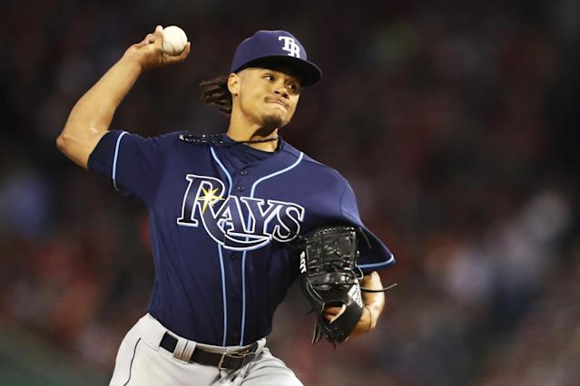 Chris Archer has been great for the Rays in this young season. (Getty Images)