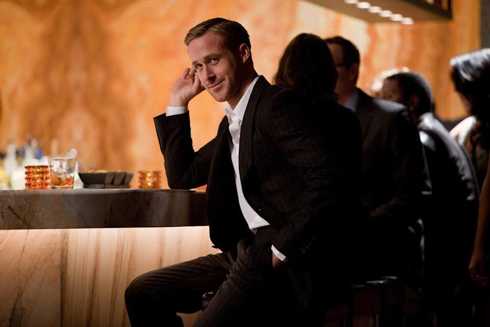 <p>Playing the fast-talking, sharply dressed, beyond charming womanizer in Crazy, Stupid, Love, Gosling sports barely-there, yet totally perfect stubble. Channeling throwback Hollywood heartthrobs, the look is totally swoon-worthy. (Photo: Warner Bros.)</p>