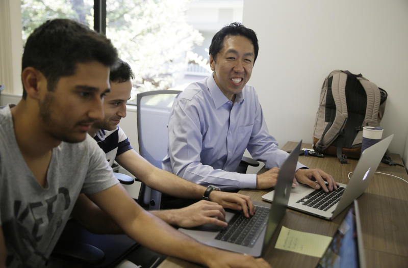 Why AI visionary Andrew Ng teaches humans to teach computers