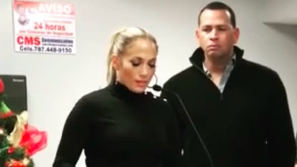 Jennifer Lopez Gives Stirring Support For Time's Up While Working In Puerto Rico
